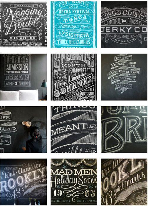 Chalk Writings by Dana Tanamachi