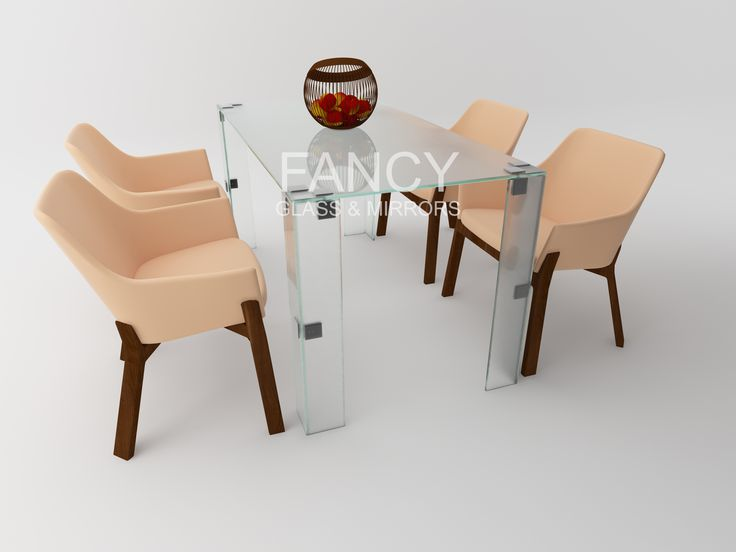 This PAULA GLASS DINING TABLE is designed to bring more living energy and brightness to any living space. A beautifully designed table which will create a centerpiece in any home. It is created from a thick glass panels which are fixed together with the help of Traditional Style Glass-to-Glass Clamp. Clamp design allows for adjoining panels to meet with a minimal gap. This glass dining table is available in different sizes, colors and glass types. NB: This item can be manufactured in custom…
