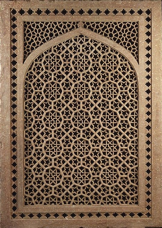Jalis, or pierced screens, were used extensively in Indian architecture as windows, room dividers, and railings.