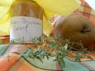 Birnen-Thymian-Senf