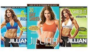 Jillian Michaels Workout DVDs | Groupon