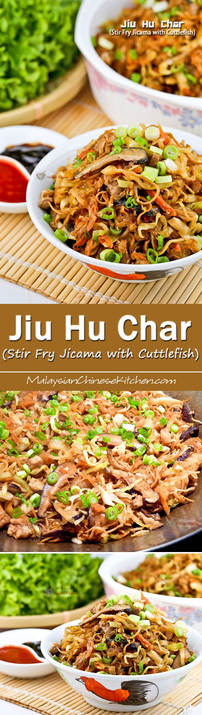 95 best malaysian chinese kitchen images on pinterest asian food jiu hu char stir fry jicama with cuttlefish is a popular nyonya side dish malaysian recipesmalaysian foodthai forumfinder Gallery
