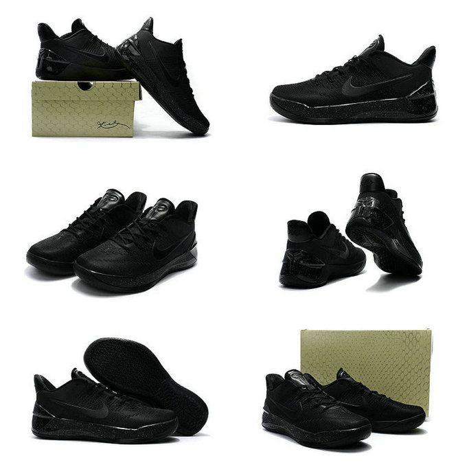 huge selection of 248ce 23ac6 Spring Summer 2018 New Nike Kobe AD 2016 2018 Triple Black ...