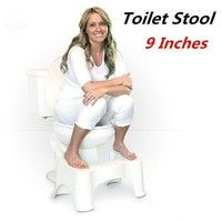 "Features:      9"" for comfort height or handicap toilet. (higher than 16"" from floor to ri"
