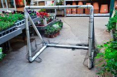 ¿Cómo armar un arco de fútbol con tubos de pvc en 5 simples pasos? | Hacelo vos mismo