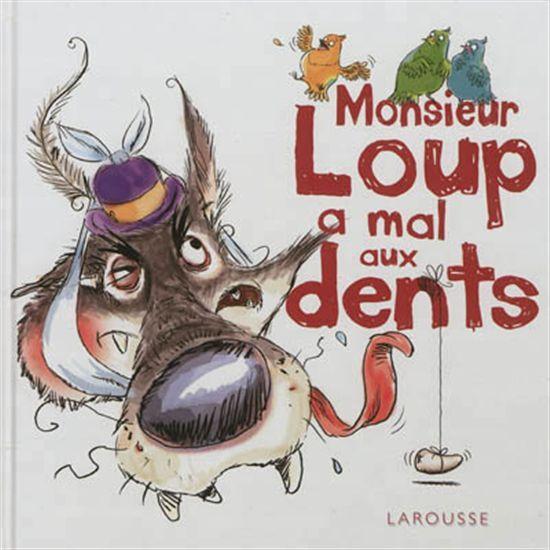 CPRPS 31997000949263 Monsieur Loup a mal aux dents. Monsieur Loup ne peut plus chasser tellement il a mal aux dents. Les animaux se réjouissent mais finalement, sans le danger de se faire manger, la vie devient monotone dans la forêt. Ils décident alors de le soigner et d'arracher une de ses dents tout abîmée.