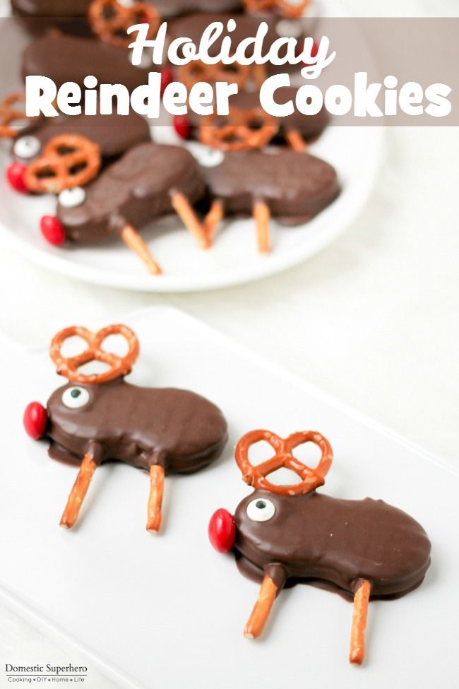 asics shop new york Holiday Reindeer Cookies are easy no bake cookies that the whole family will love