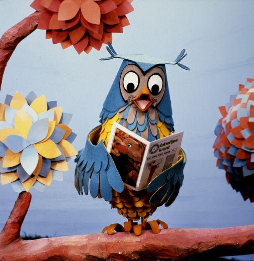 ;-) Meneer de Uil vindt lezen leuk.
