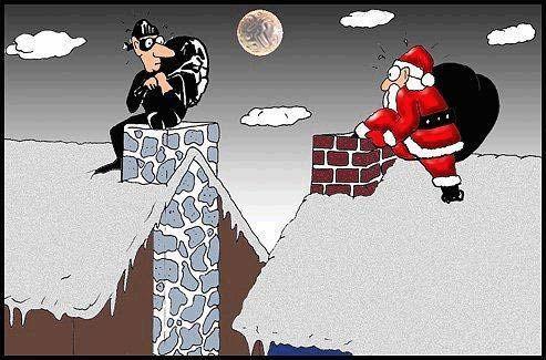 10 Αστείες Χριστουγεννιάτικες εικόνες!