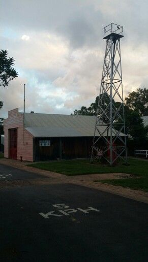 Fire museum open sundays at old Petrie town.