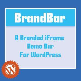 BrandBar Demo Bar (Top of the Page) Plugin for WordPress (Save 33% Code: FOOHOLIDAY33)   #deals #dealsandsteals #WordPress #plugins #blogging #tech #sale