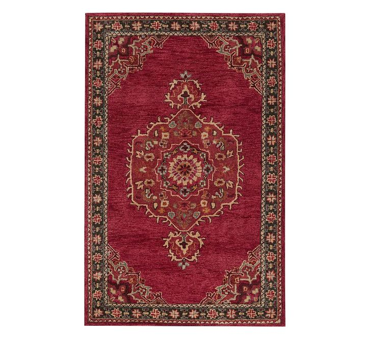 Aamir Persian Rug Persian Rug Red Rugs Hand Tufted Rugs