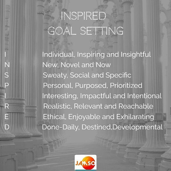 The INSPIRED goal setting system works great alone or as a support system for for SMART goals.  Check out our website for more free details on goal success.  How do you remain motivated?