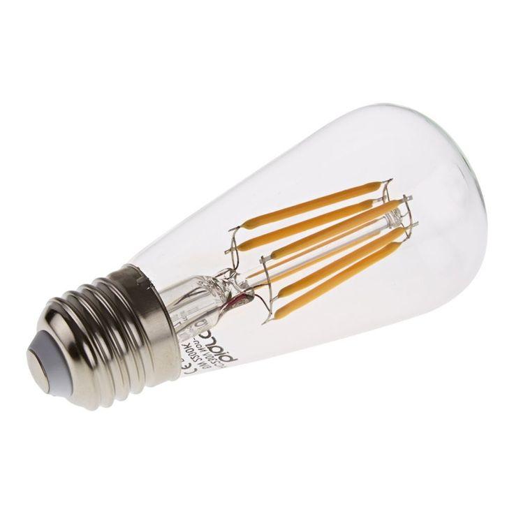 Biard E27 Traditional Vintage LED Filament Bulb 6W