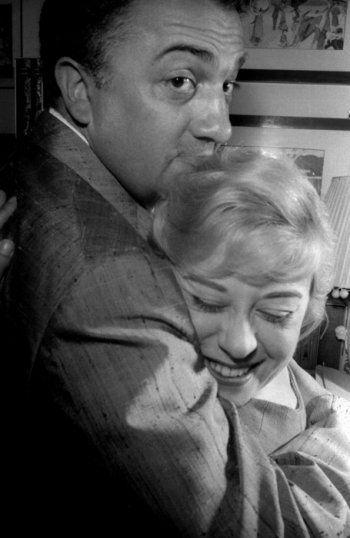 Giulietta Masina e Federico Fellini