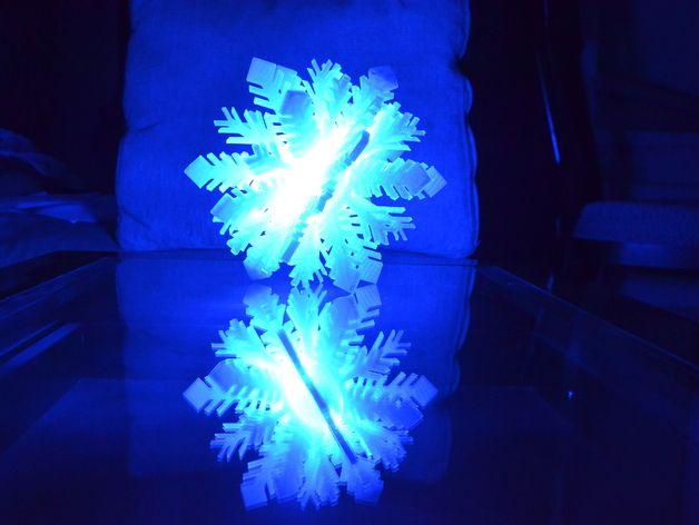 Snowflake bluetooth lamp by Jon_Yam