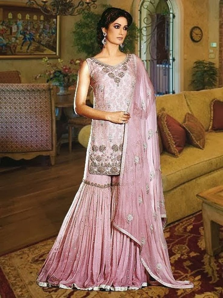 Latest Trend Of Sharara | Latest Bridal Gharara Designs 2017 | PK Vogue