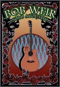 Bob Wier - concert poster