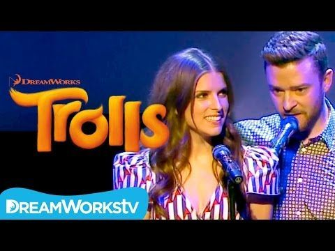 """Justin Timberlake & Anna Kendrick perform a heart-warming acoustic version of """"True Colors"""" at #Cannes2016. From the creators of Shrek comes the most smart, ..."""