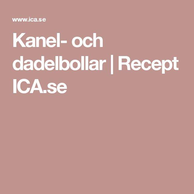 Kanel- och dadelbollar | Recept ICA.se