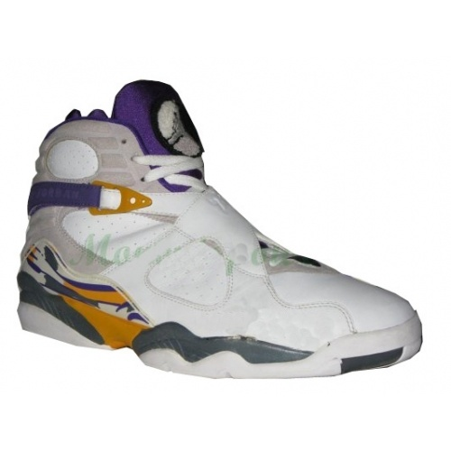c52b7ff2d11ed6 Air Jordan 8 Kobe Bryant White Grey Purple  53