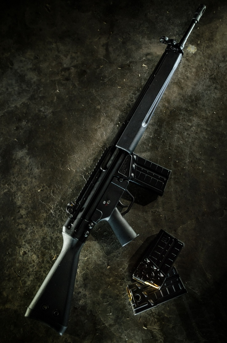 PTR-91 Rifle a solid reliable battle rifle for home defense