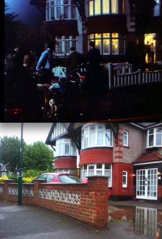 Quadrophenia (1979) Party House at Kitchener Road  Actually located at 54 Clarendon Gardens  Wembley, Greater London HA9 7LE, UK  Submitted by Paul Sid (Delta Bravo London)