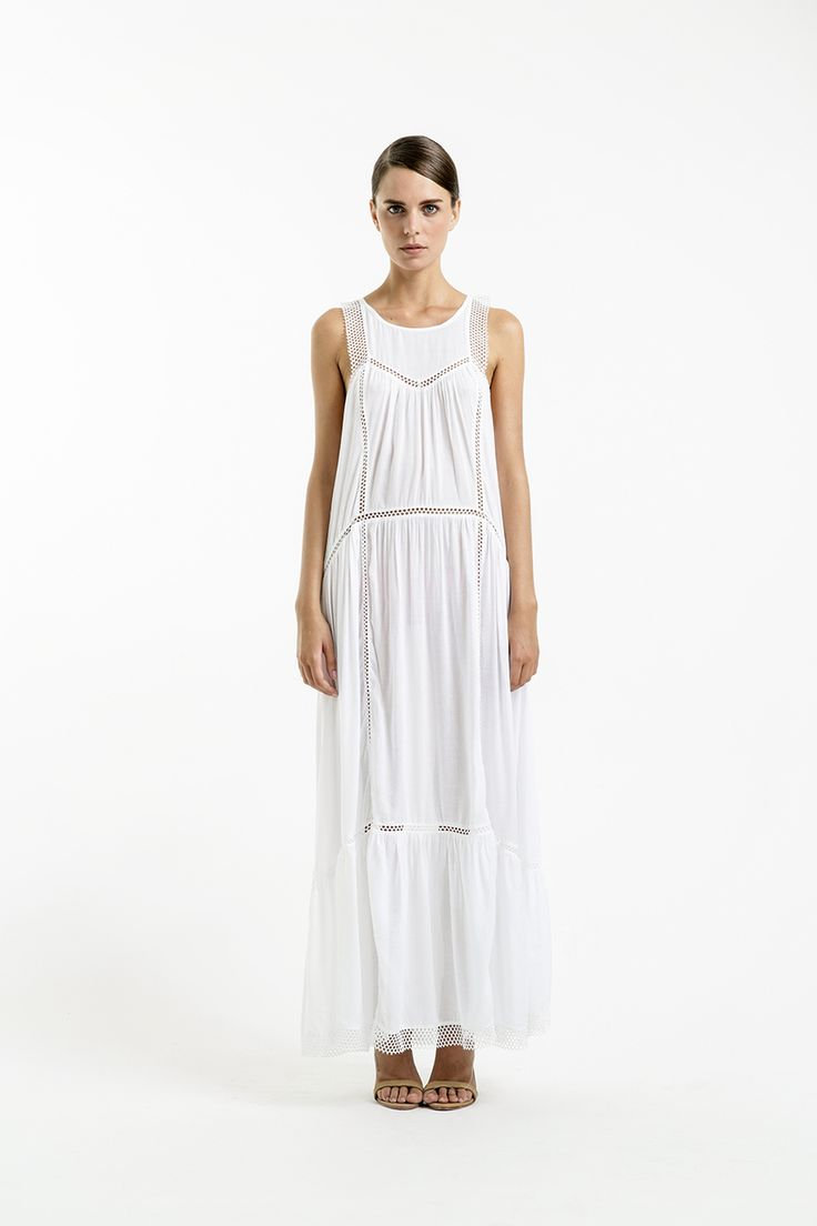 Magali Pascal - Nuage Maxi Dress, AUD159.00 (http://www.magalipascal.com/nuage-maxi-dress/)