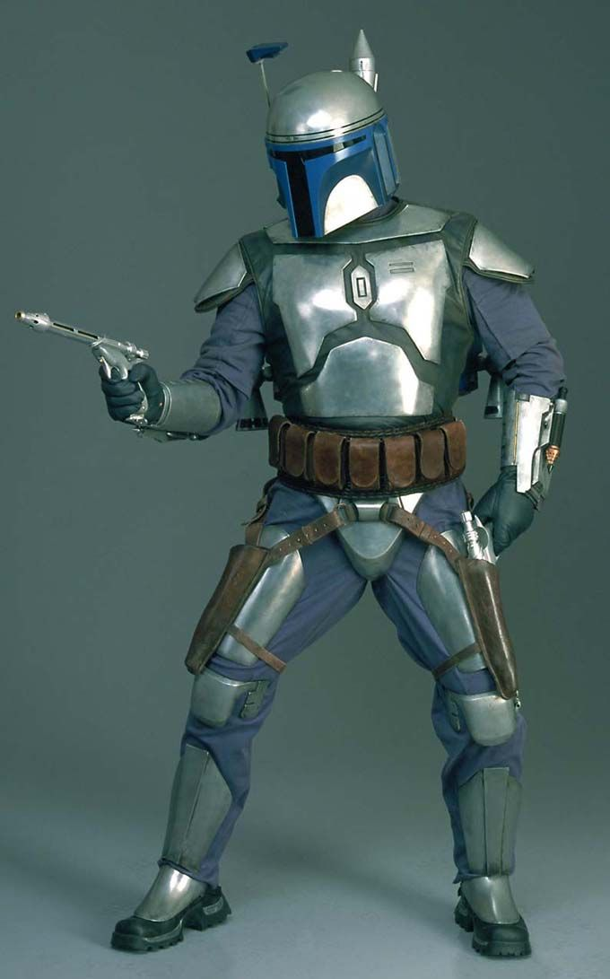 Jango Fett. Damn this character. I swear, almost no other death in Star Wars pisses me off as much as Jango's. He got taken out like a little bitch! Ugh... He deserved a better death. Him and Boba