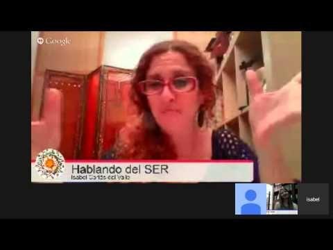 """KARINA LEÓN en """"Hablando del SER"""". KARINA es Canal de Luz y su misión es sembrar esperanza en las... - YouTube"""