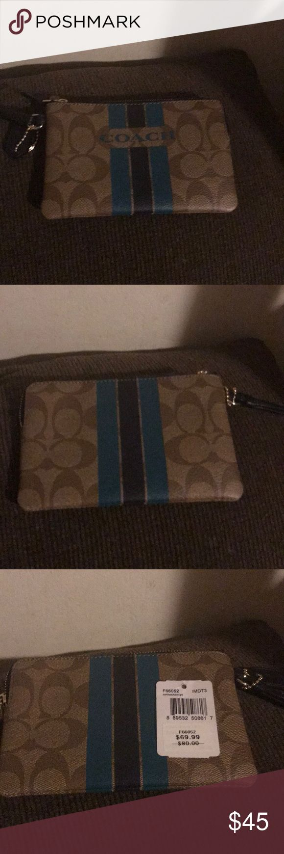 Coach wristlet Brand new with tags Coach wristlet Coach Bags Clutches & Wristlets