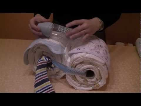 Moto de pañales paso a paso - YouTube
