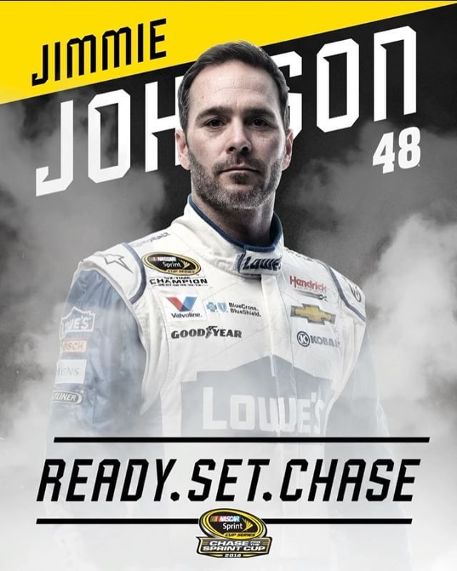 @jimmiejohnson is in. #TheChase