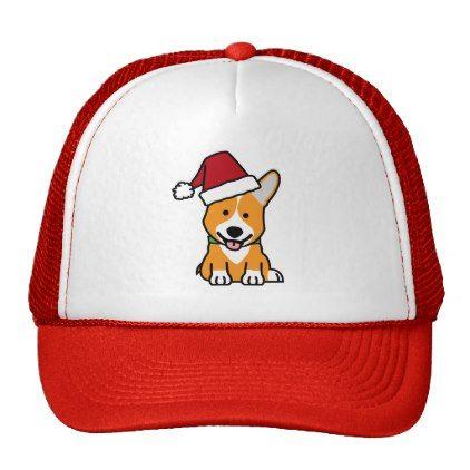 #Corgi dog puppy Pembroke Welsh Christmas Santa hat - #pembroke #welsh #corgi #puppy #dog #dogs #pet #pets #cute #pembrokewelshcorgi