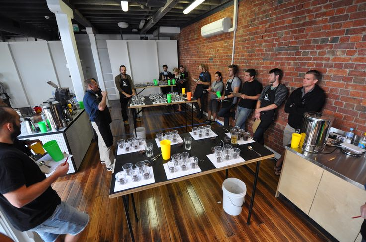 Q Graders course at the Australian Barista Academy on Rosslyn Street West Melbourne