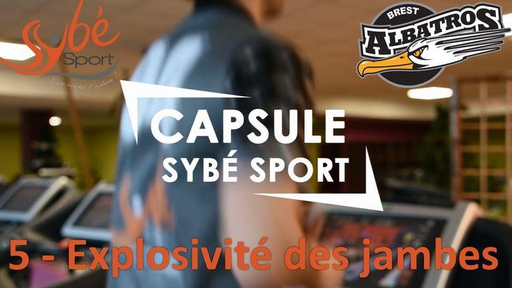 EXPLOSIVITE DES JAMBES - 5ème séance d'entraînement avec Anthony, joueur de l'équipe de hockey Les Albatros partenaire de la salle de fitness à #Brest http://www.sybe-sport.com