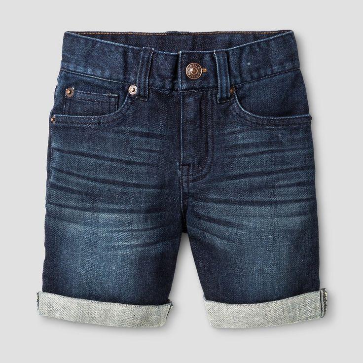 Toddler Boys' Jean Shorts Cat & Jack Dark Blue 3T, Toddler Boy's