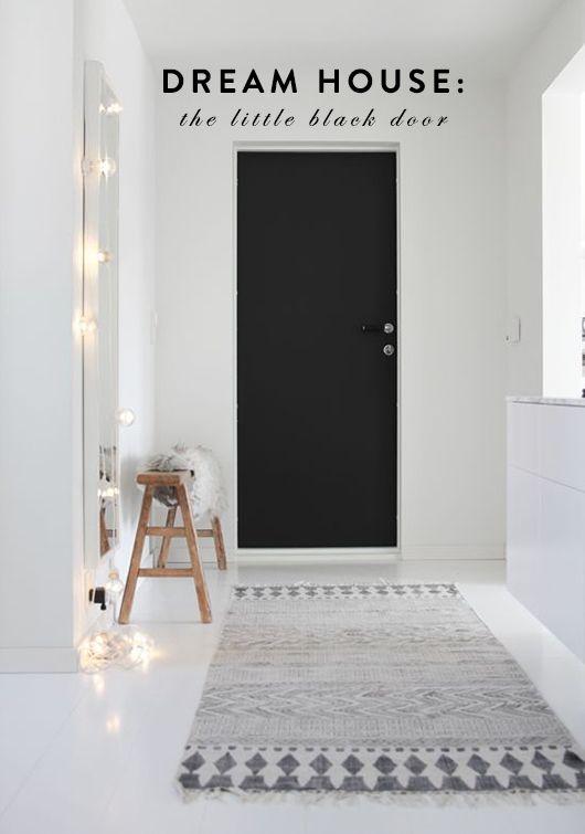 dream house: the little black door. / sfgirlbybay