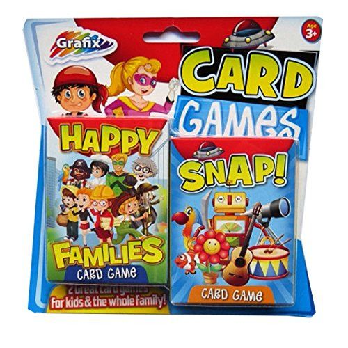 Children's Card Games - - Snap & Happy Families