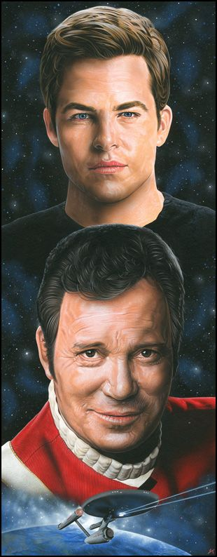 Star Trek - Kirk by *caldwellart on deviantART