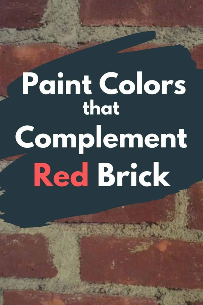 10 Exterior Paint Colors For Brick Homes Red House