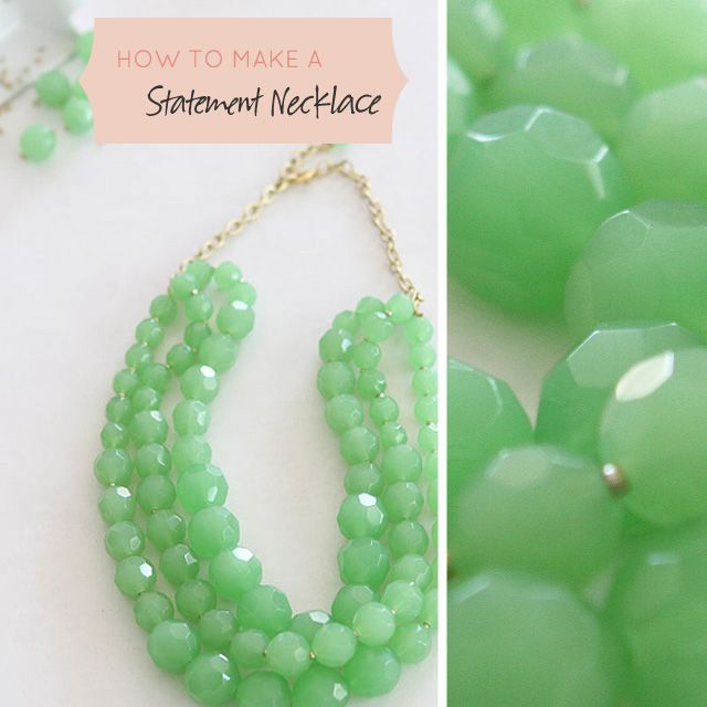 how to make your own necklace