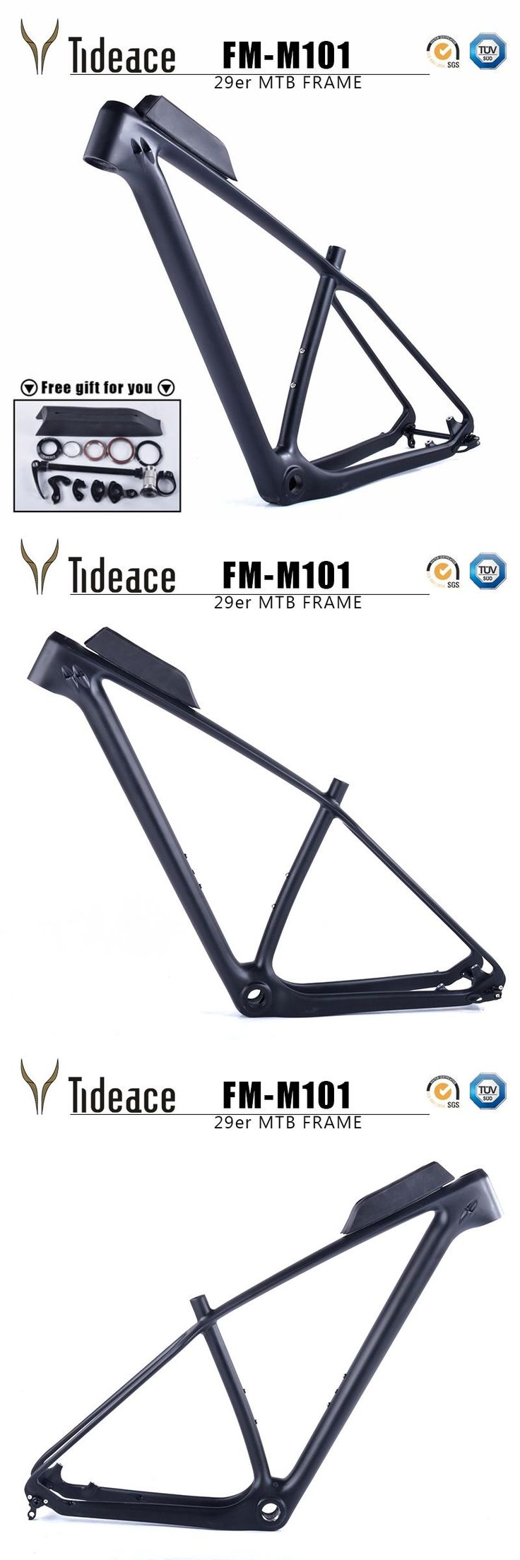 [Visit to Buy] Cheap T800 carbon mtb frame 29er Chinese full carbon frame for bicicletas mountain bike 29 carbon bicycle frameset mtb 142/135mm #Advertisement