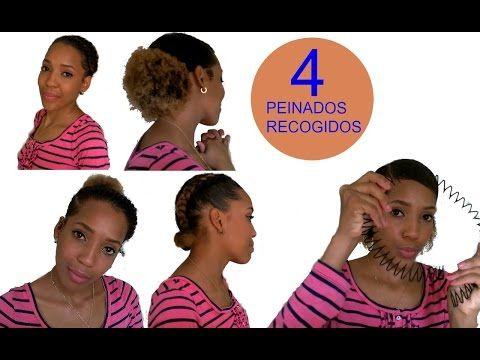 Peinados Recogidos Para Cabello Corto Afro/Rizado/Luisanna_cf