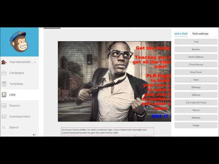 Newsletter testen ABER kostenlos mit mehreren Listen, um zu sehen von welche Landing Page kommen die meisten Abonnenten in den Newsletter.