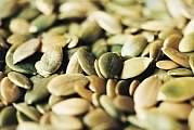 Health Benefits of Pumpkin Seeds. Pumpkins and pumpkin seeds belong to the same family as cantaloupe, watermelon, cucumber, and squash. Long valued as a great source of zinc pumpkin seeds are becoming increasingly recognized for their diversity of antioxidants, which makes them unique in their antioxidant support, such as providing a wide variety of forms of vitamin E.