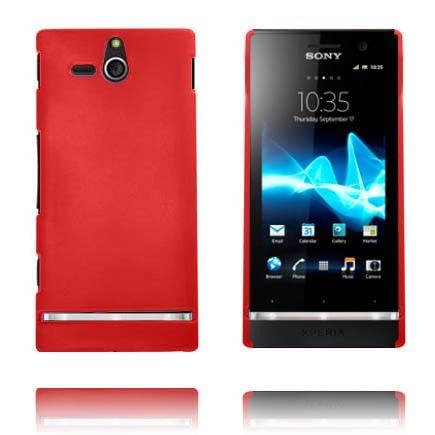 Hard Shell (Punainen) Sony Xperia U Suojakuori