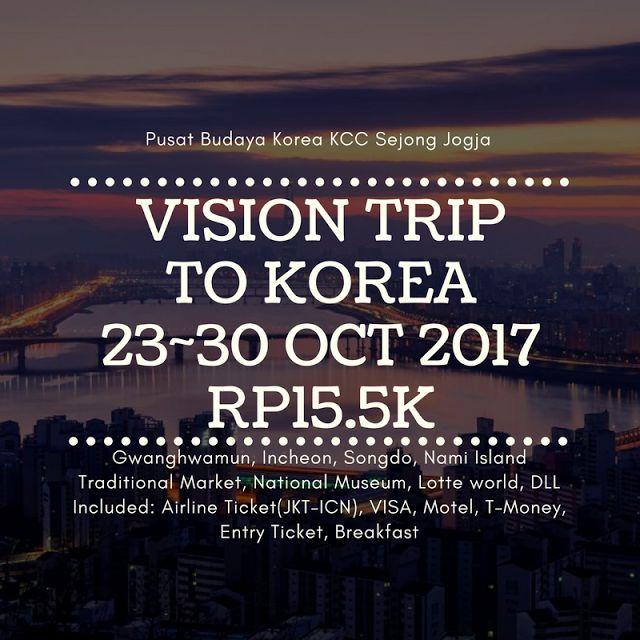 Liburan ke Korea - Kita menikmati musim gugur di Korea 2017
