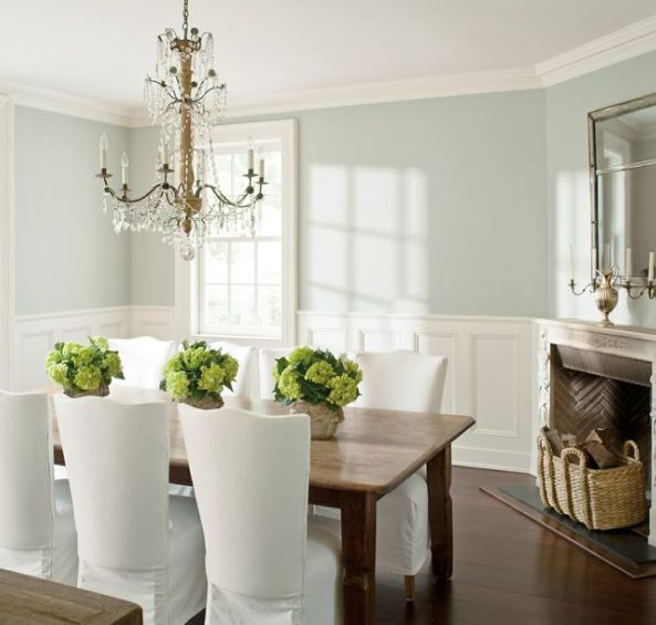 wickham gray dining room - Painting Dining Room