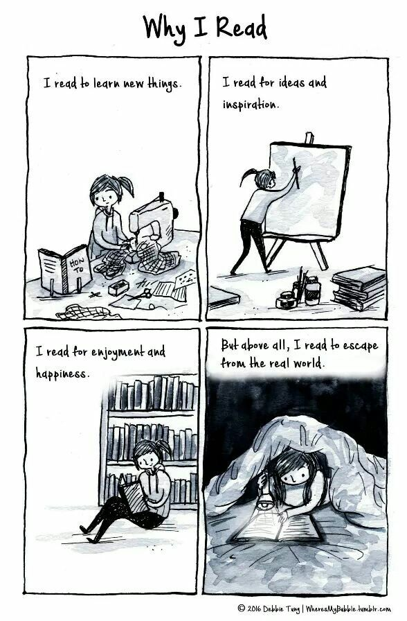 Why I read...